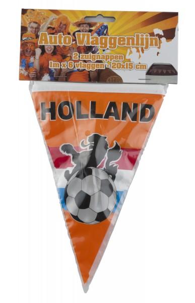 Mini vlaggenlijn Holland auto of raam