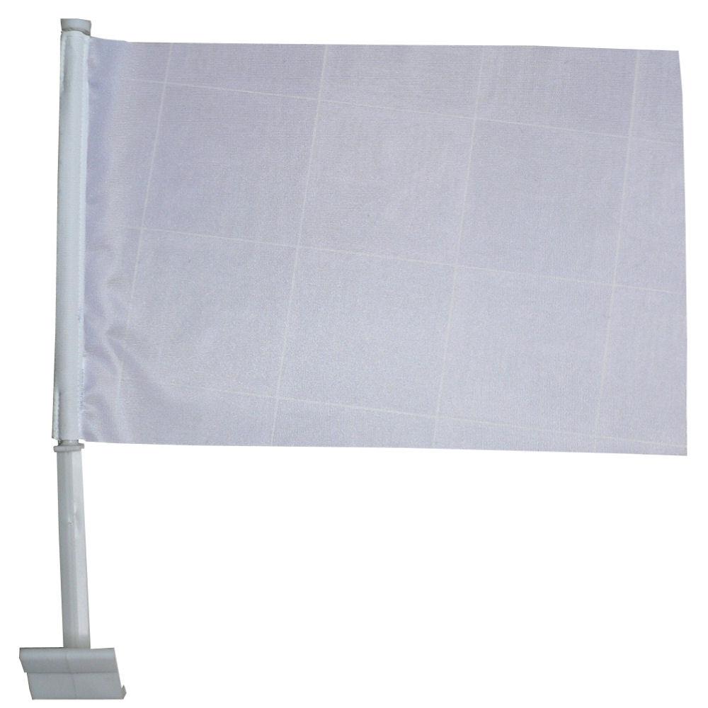 Witte autovlag eerste communie autovlaggen wit