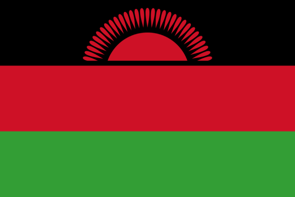 vlag Malawi, Malawische vlaggen 150x225cm