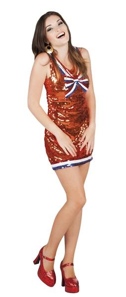 Oranje jurk Dazzle Dutch EK | WK en Koningsdag maat M