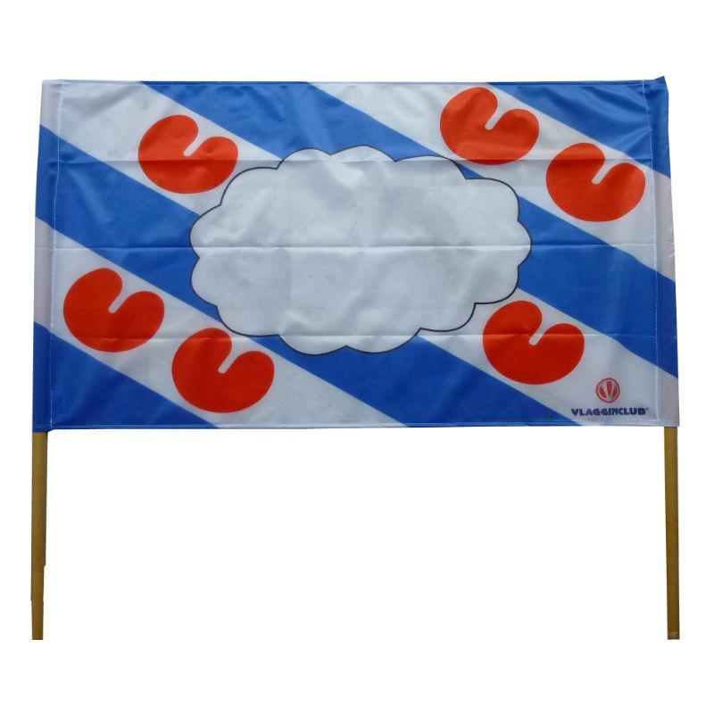 Spandoeken met uw reclame of boodschap laat je bedrukken bij Vlaggenclub