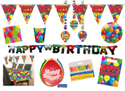 Happy Birthday partybox balloons