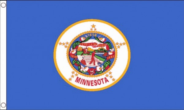 Vlag Minnesota 90x150cm | Best Value