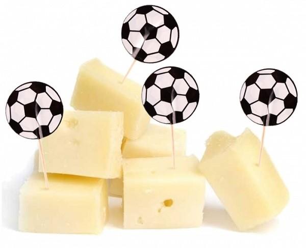 Kaasprikkers met het thema Voetbal 20 stuks WK | EK