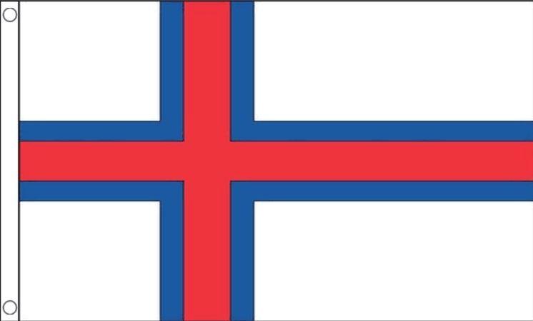 Faeröer vlag Faeröer eilanden vlaggen 90x150cm Best Value