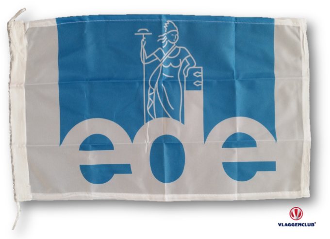 Vlag gemeente ede 30x45cm