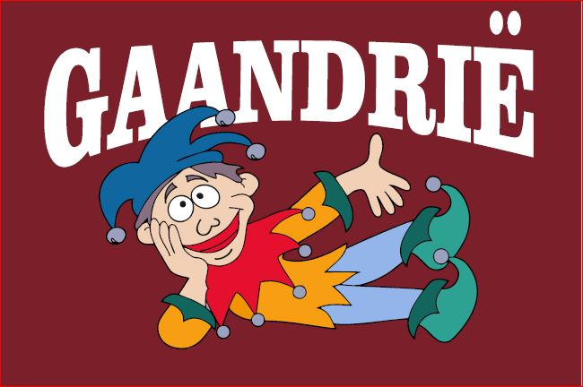 vlag Gaandrië 150x225cm Stompwijkse vlag Carnaval