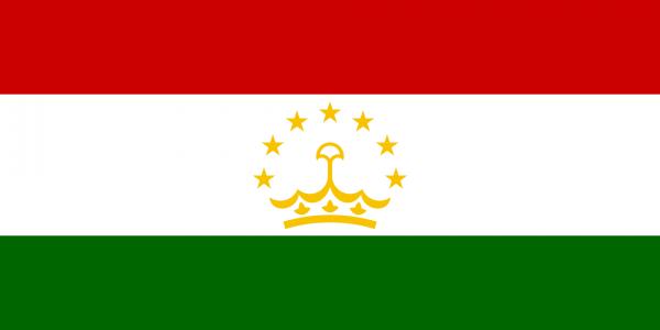 Vlag Tadzjikistan 100x150cm Glanspoly