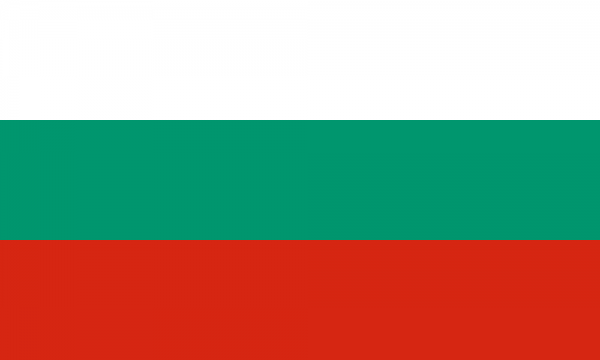 Tafelvlaggen Bulgarije 10x15cm | Bulgaarse tafelvlag
