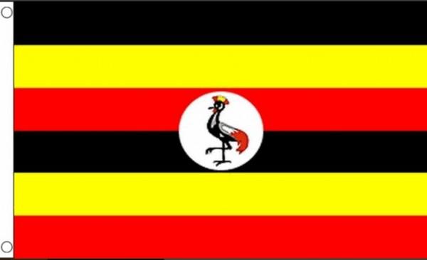 Vlag Oeganda 60x90cm