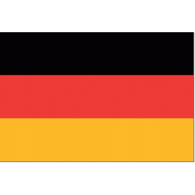 Tafelvlag Duitsland | Duits tafel vlaggetje 10x15cm kopen bij Vlaggenclub