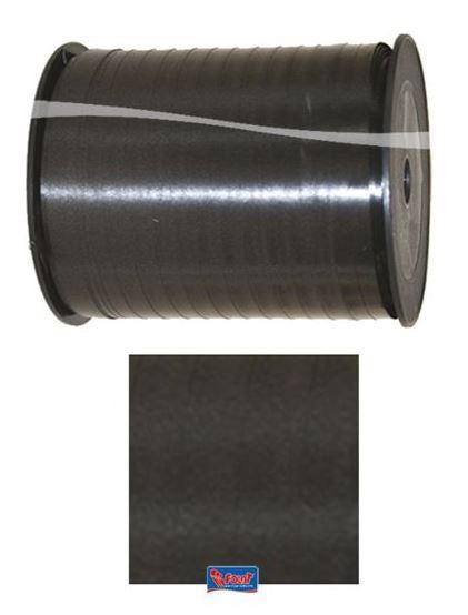 Lint zwart, cadeaulint, kadolint 5mmx500m
