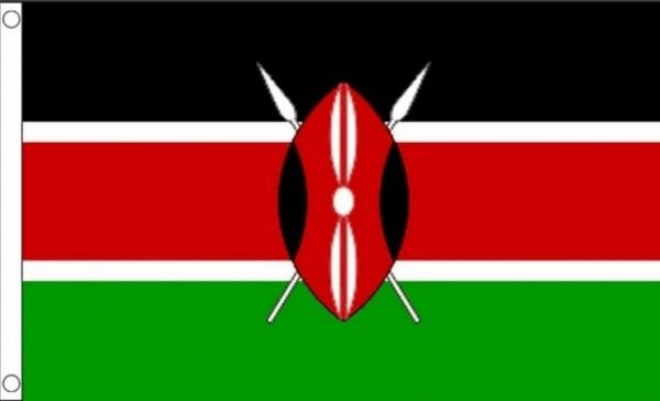 Vlag Kenia Keniaanse vlaggen 90x150cm Best Value