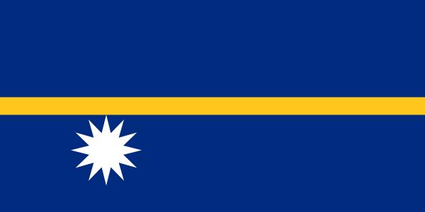 vlag Nauru | Nauruaanse vlaggen 150x225cm