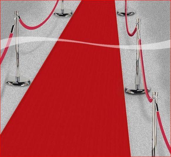 Rode loper 4,5 m lang voordelig kopen bij Vlaggenclub