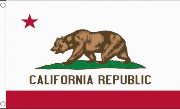 Vlag Californie 90x150cm