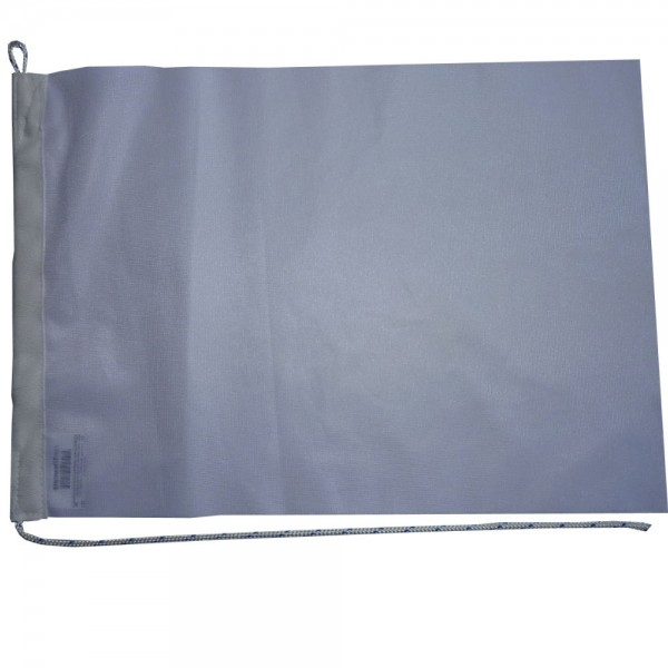 Witte blanco vlag 70x100cm Maak je eigen vlag