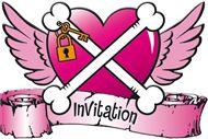 Uitnodigingen Pirate Girl 8 stuks