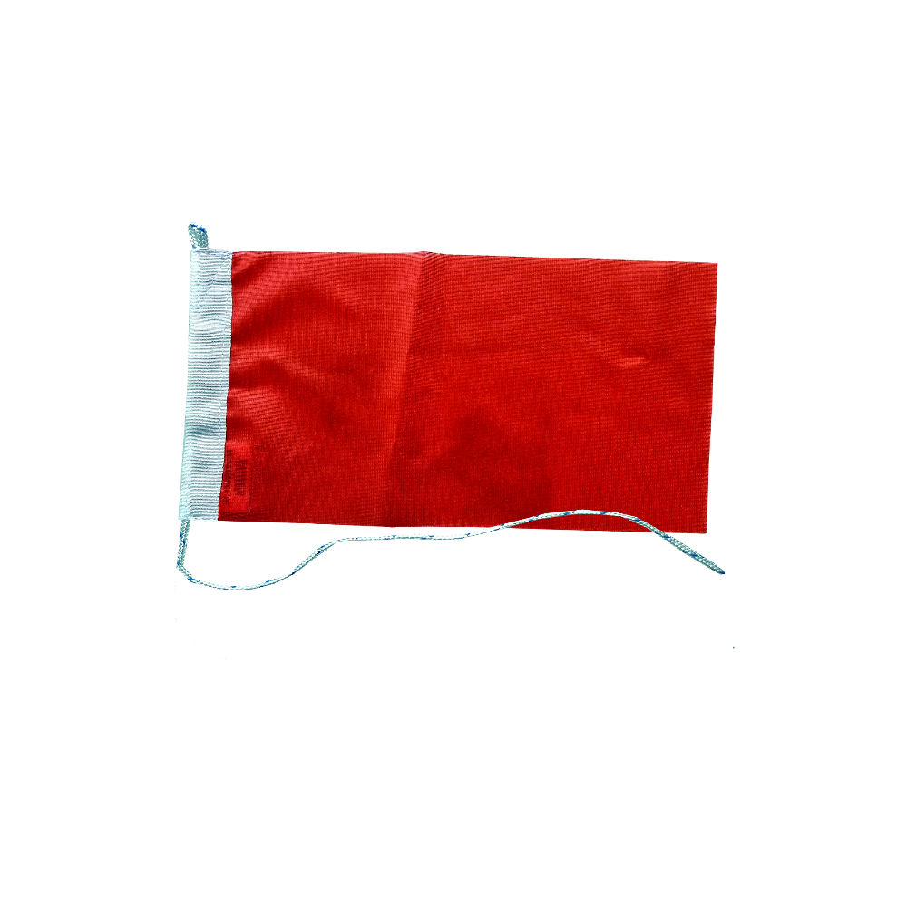 Rode vlag 20x30cm vlaggen Rood