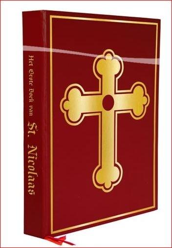 Boek van Sinterklaas Luxe met leeslint