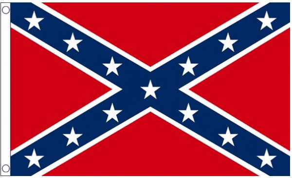 Confederate vlag best value 90x150cm