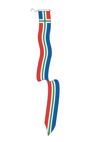 Wimpel Groningen 2 25x250cm