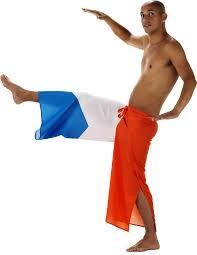Capoeira Vlag Broek Nederlandse vlag WK | EK koningsdag (one size)