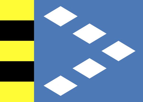 Vlag Sudwest-Fryslan