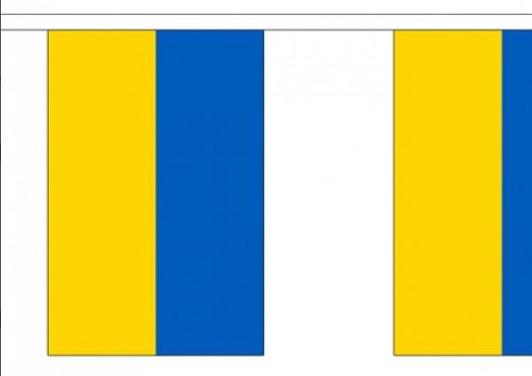 Vlaggenlijn Oekraïne 3 meter