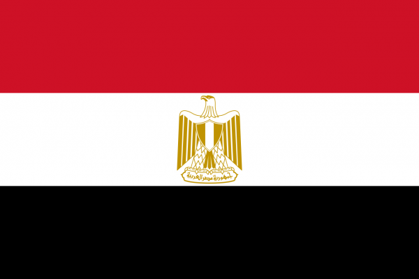 Vlag Egypte Spunpoly