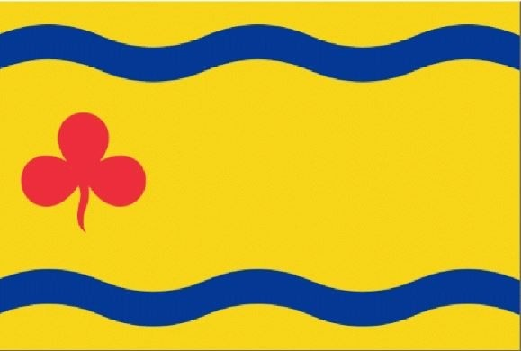 Vlag gemeente Hardenberg 100x150cm