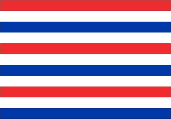 Prinsenvlag variant met Nederlandse kleuren 70x100cm