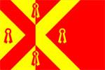 Vlag gemeente Gennep | vlaggen Gennepper 20x30cm