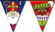 Sint en Piet vlaggenlijn Sinterklaas 6m Vlaggenclub