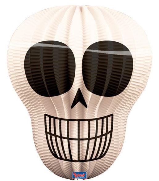 Piraten,Halloween en Sint  Maarten Lampion in de vorm van een Skull
