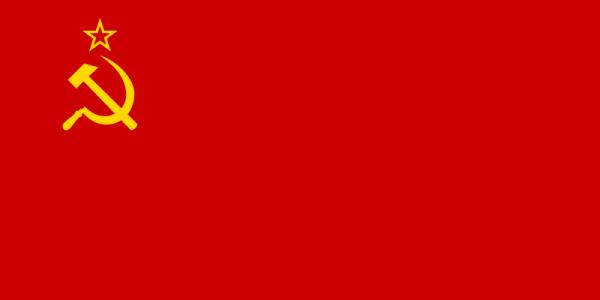 Vlag USSR 30x45cm Sovjet Unie