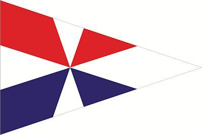 Wimpel Geus | Puntvlag Geusje 30x45cm