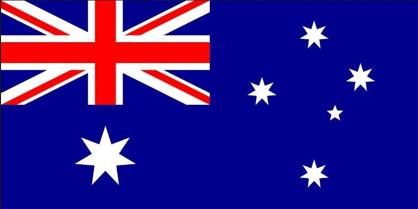 Australië Autovlag Luxe