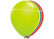 Ballonnen Neon kleuren 8 stuks