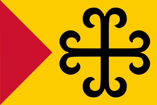 Grote vlag Sittard-Geleen