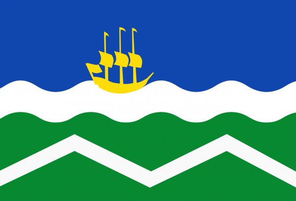 Grote vlag Midden-Delfland