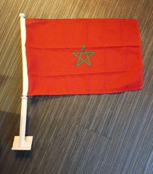 Autovlag Marokko Marokkaanse autovlaggen Luxe