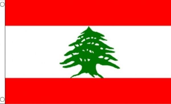 Vlag Libanon 60x90cm