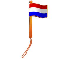 Ratelvlag Oranje Ratel laat horen dat u voor Oranje bent!
