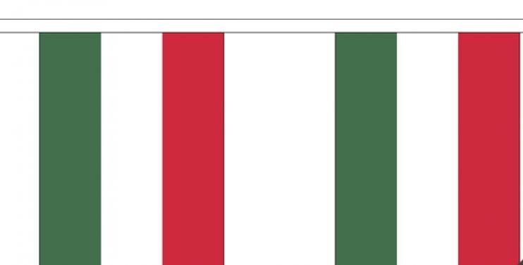 Vlaggenlijn Hongarije Hongaarse vlaggenlijnen 3m