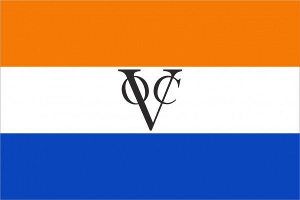 vlag VOC Verenigde Oost Indische Compagnie 70x100cm Oranje variant