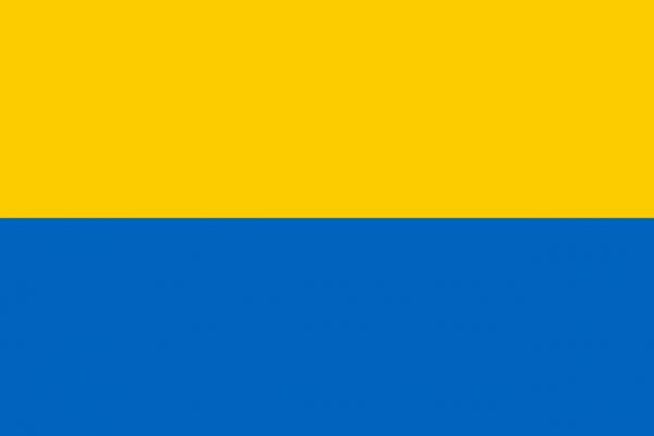 Grote vlag Bodegraven-Reeuwijk