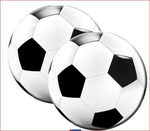 Servetten voetbal 20 stuks WK | EK