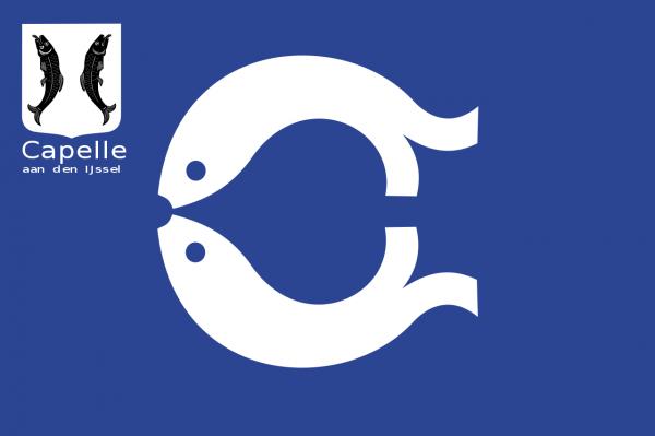 mastvlag Capelle aan den IJssel 150x225cm