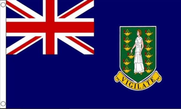 Vlag Britse Maagden Eilanden 60x90cm | Best value